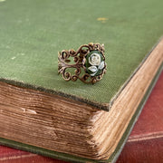 Green Rose Ring