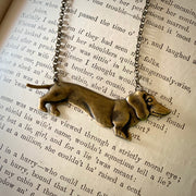 Wiener Dog Necklace