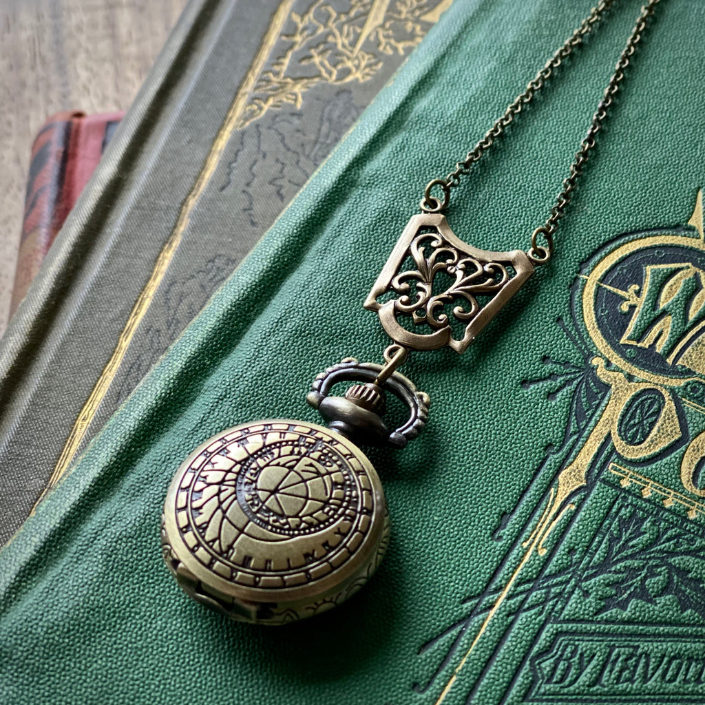 Time Lord Watch Necklace