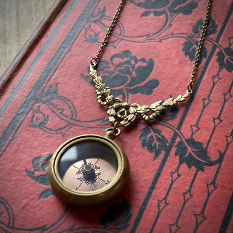 Filigree Compass Necklace