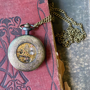 Mechanical Pocket Watch - Pocket Chain or Necklace