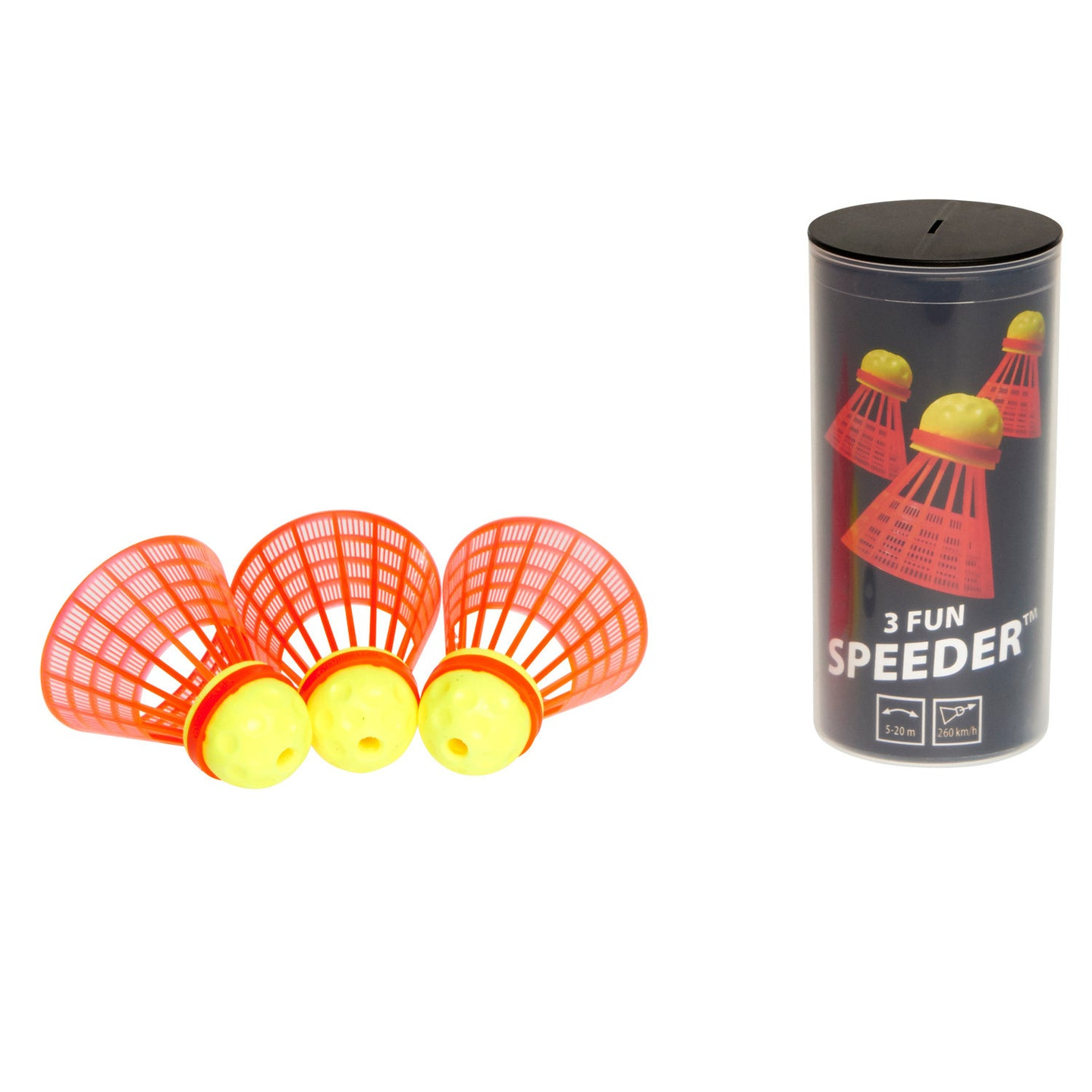 Speedminton® FUN 3pk Speeder™ Tube