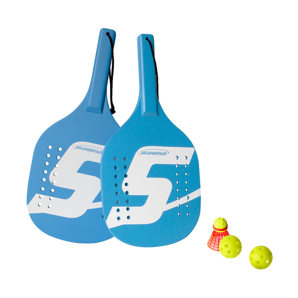 Speedminton® Four-Player Beach Paddle Set