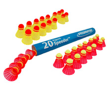 Speedminton® Mix Speeder™ tube of 20 (10 Fun, 10 Match)