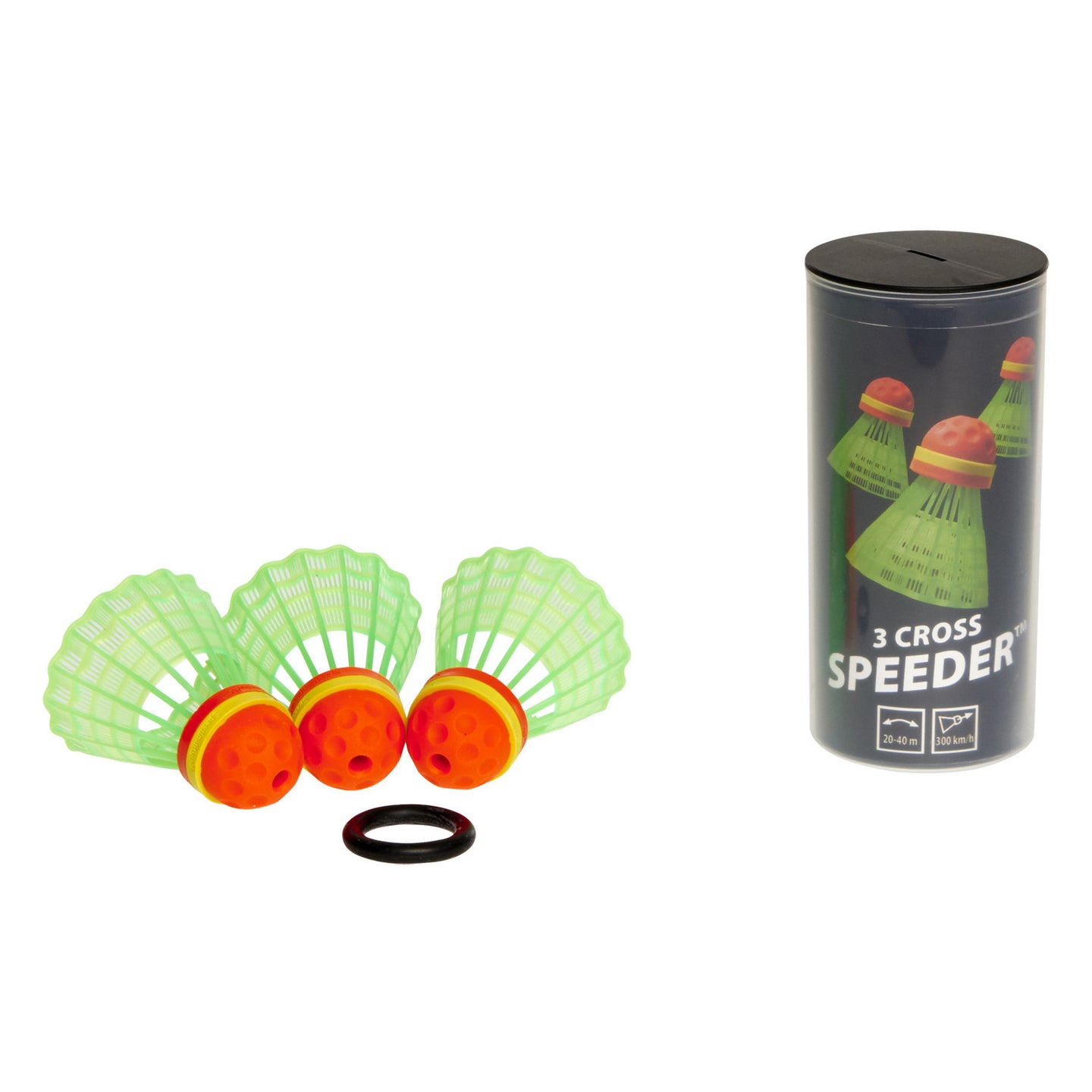 Speedminton® CROSS 3pk Speeder™ Tube