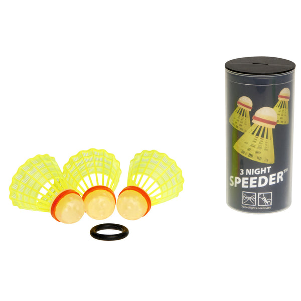 Speedminton® NIGHT 3pk Speeder™ Tube