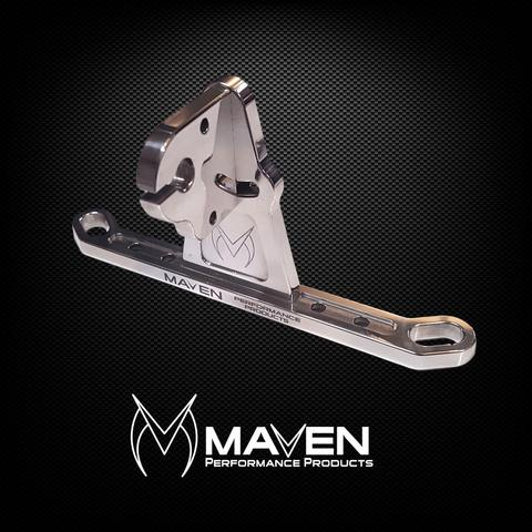 Maven Billet Throttle Cable Bracket 4150 4500