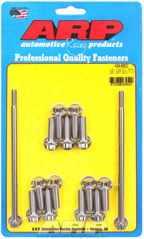 ARP LSX 12-POINT HEAD OIL PAN BOLT KIT  SS ARP-434-6902