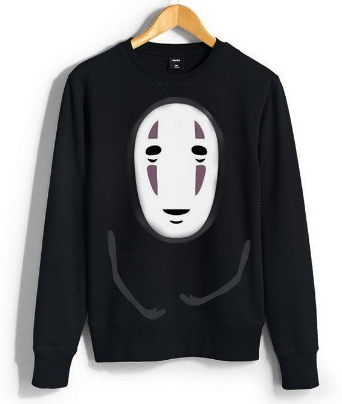 Spirted Away No Face Pullover SP3783
