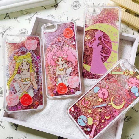 Sailor Moon Glitter iPhone Cases SW1237 [4 Styles Available]