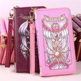 Sakura Card Captor Wallet Clutch WS2136 - KAWAII COLLECTIONS