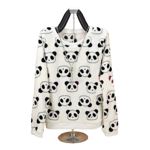 Soft Fleece Panda Sweater XM2368