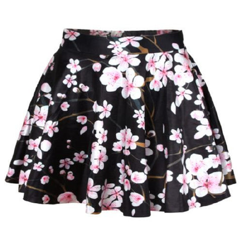 Sakura Cherry Blossom Skirt PT7363 - KAWAII COLLECTIONS