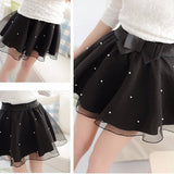Fashion Beads Skirt SW2013 [4 Colors Available] - KAWAII COLLECTIONS