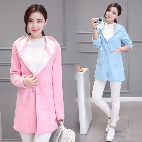 Candy Pink / Sky Blue Jacket Outerwear SW1292 - KAWAII COLLECTIONS
