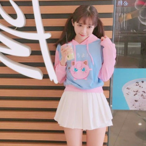 Jigglypuff Pink Sweater Pullover PS2379