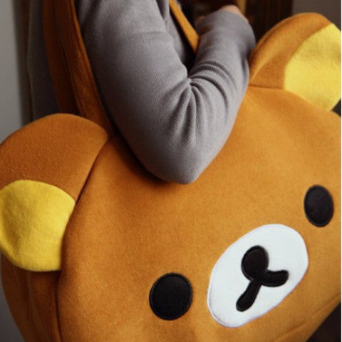 Rilakkuma (BRWN/BEIGE) Shoulder Bag KB1272 - KAWAII COLLECTIONS