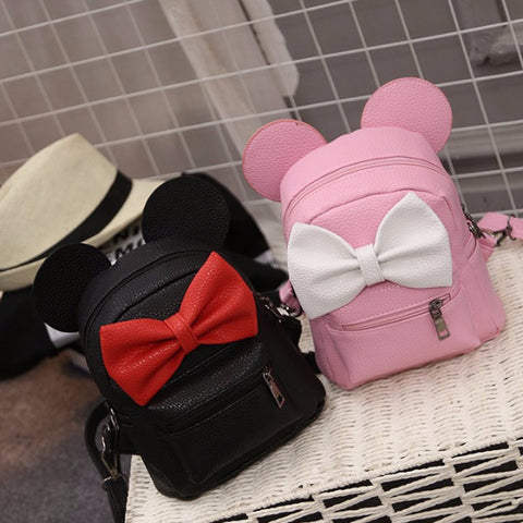 Cute Bowtie Ears Backpack BP9831 (extra colors) - KAWAII COLLECTIONS