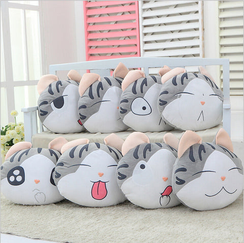 Neko Cheese Cat Plush Pillow PC5637 - KAWAII COLLECTIONS
