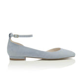 HETTY FLAT BLUE