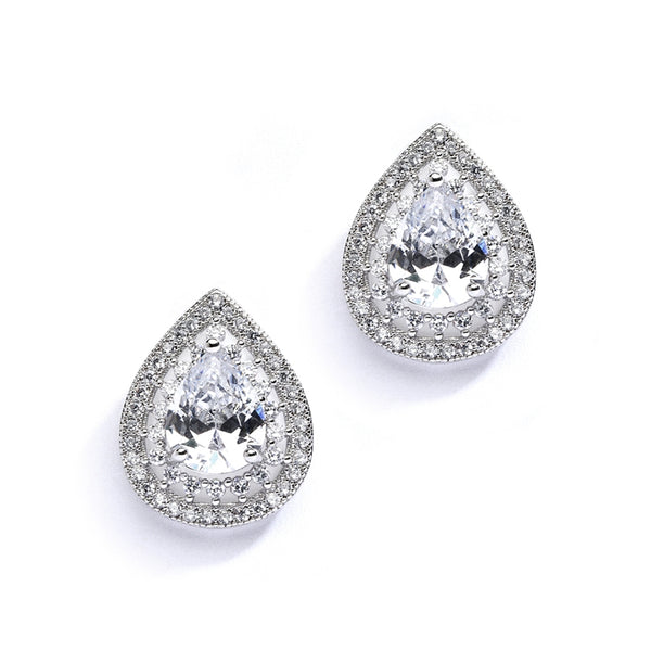 MICRO PAVE EARRINGS