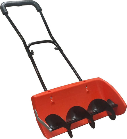 EasyGoProducts Snow Screw, Auger Style Manual Snow Blower, Snow Plow, Heavy Duty Turning Pusher Shovel - Compare to Snow