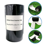 RoundLove 6''x50' EasyGoProducts Artificial Grass Self-Adhesive Seaming Turf Tape 15 cm x 15meters – 6 inches x 50 feet, 6inches x 50ft