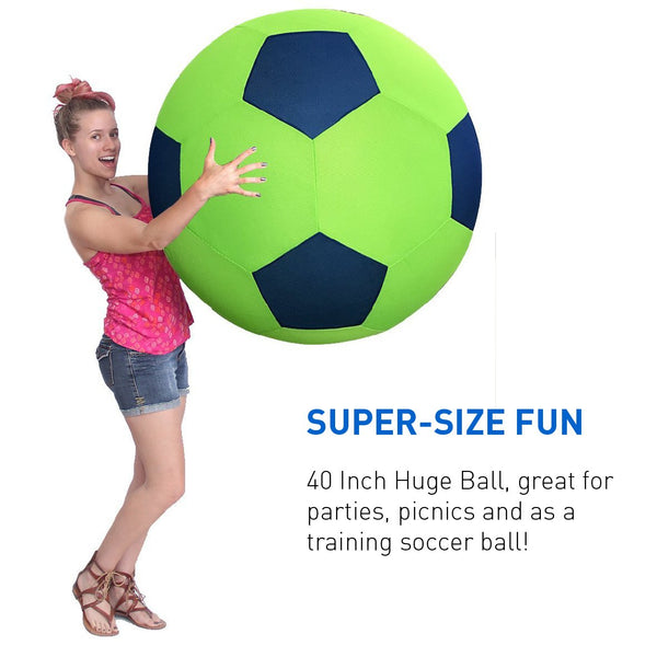 40 Inch Huge Ball - Inflatable Giant Soccer Ball – Big soccer ball