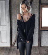 Hudson Knit - Black - MW Boutique