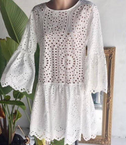 Romi Lace Crochet Dress