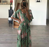 Vanuatu Dress - Green - MW Boutique