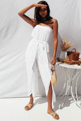 Blake Jumpsuit - White - MW Boutique