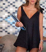 Drifter Playsuit Black - MW Boutique