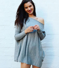 Flinders Knit - Grey - MW Boutique