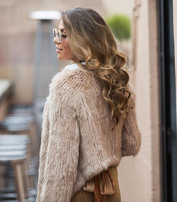 Bubish Berlin Fur - Beige - MW Boutique