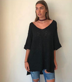 Oversized Organic Knit - MW Boutique