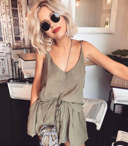 Roma Two Piece - Khaki - MW Boutique
