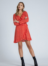Raven Dress - Red - MW Boutique
