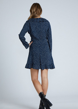 Raven Dress - Navy - MW Boutique