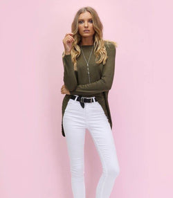 Westwood Knit - Khaki - MW Boutique