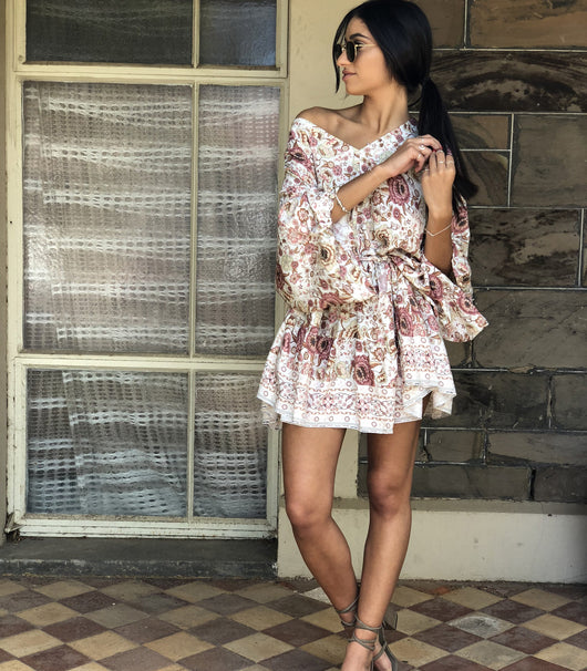 Bagira Tunic - Floral - MW Boutique