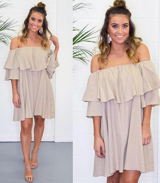 Linen Dress - MW Boutique