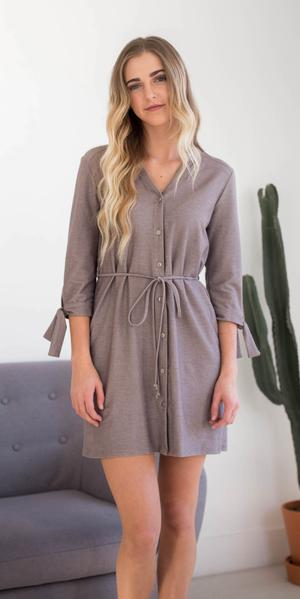 Gabby Button Up Dress/Tunic