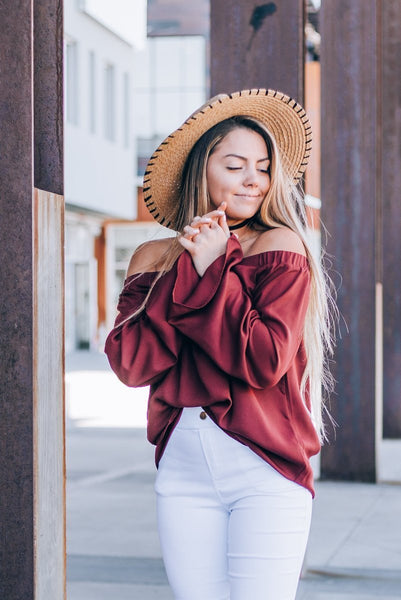 Ava Off The Shoulder Bell Sleeve Top