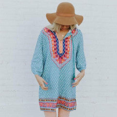 Contemporary Tribal Print Tunic