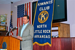 Jim Drake NLR Kiwanis Club