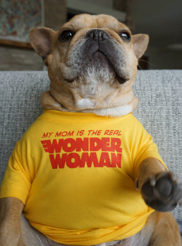 Wonder Mom Dog Tee