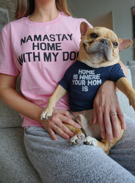 Stay Home Matching T-Shirt Set