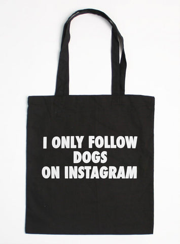 INSTAGRAM DOGS TOTE BAG