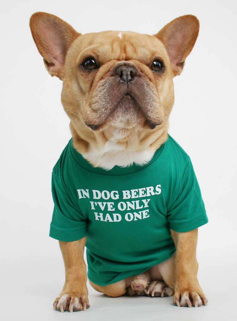 In Dog Beers Dog Tee
